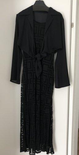 Kleid mit Bluse/Weste
