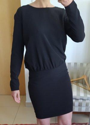 Set Sukienka z długim rękawem czarny