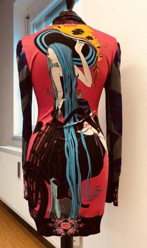 Kleid mit buntem Print