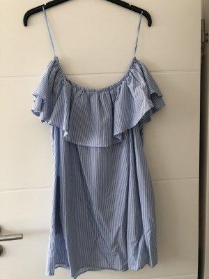 Kleid mit Carmen Ausschnitt Gr. S