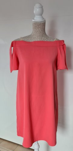 Orsay Off-The-Shoulder Dress salmon