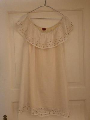 Kleid mit Carmenkragen