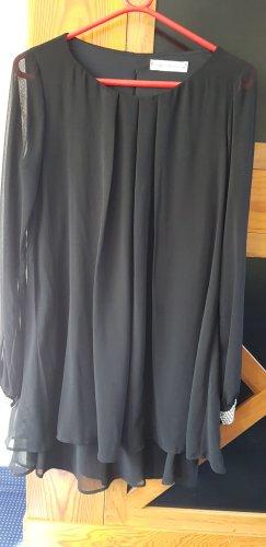 Kleid mit Chiffonärmeln