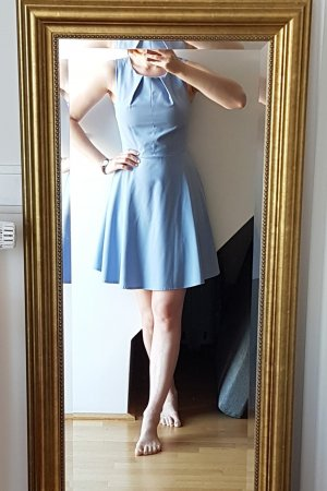mbyM Robe découpée bleu azur