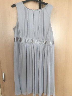 Bodyflirt Szyfonowa sukienka beżowy