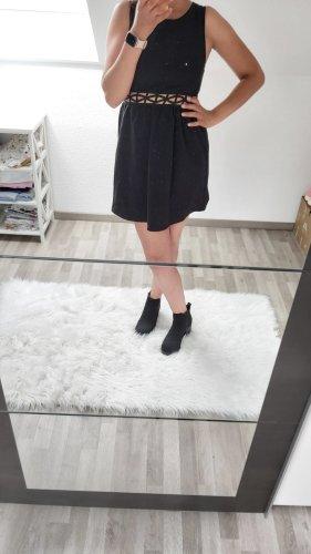 H&M Cut Out Dress black