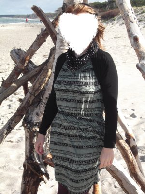 Kleid mit Ethnoprint