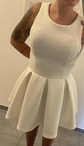 Lavish Alice Vestido cut out blanco