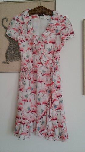 Kleid mit Flamingos