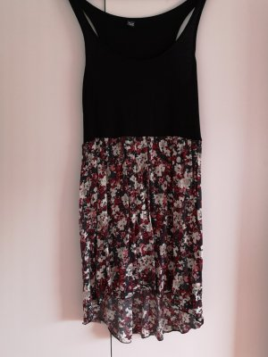 Pimkie Midi-jurk zwart-donkerrood