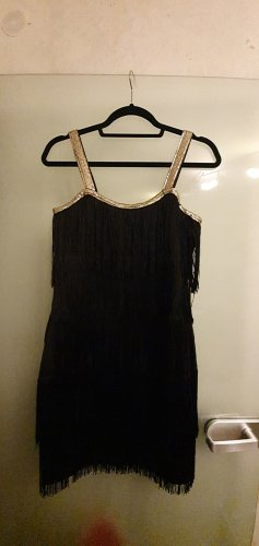 Bodyflirt Fringed Dress black