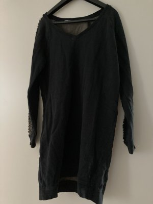 Garcia Jeans Longsleeve Dress dark blue cotton