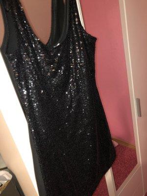 Kleid mit Glitzer Pailletten