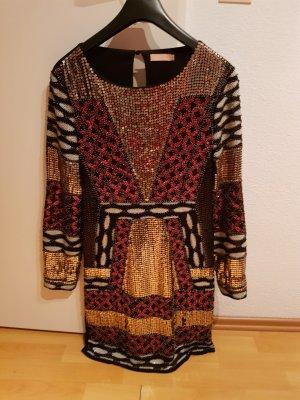 Nelly Sequin Dress multicolored