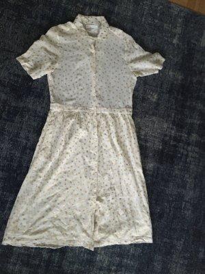 Kleid. mit goldenen Punkten