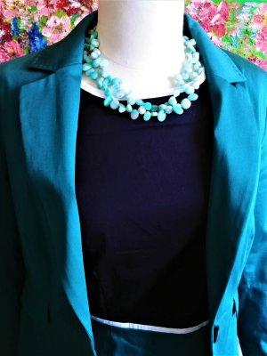 Midi Dress dark blue cotton