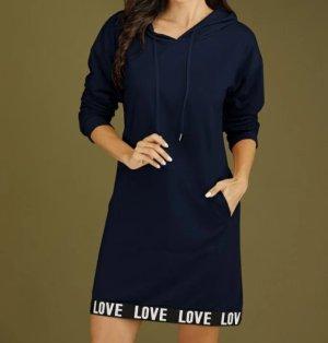 Sweat Dress dark blue