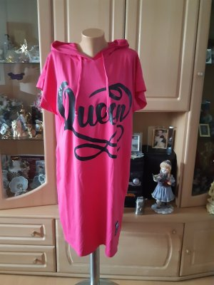 Made in Italy Robe t-shirt rose coton