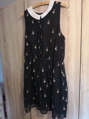 AJC Chiffon jurk veelkleurig
