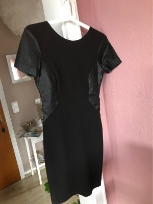 Trf by Zara Leather Dress black