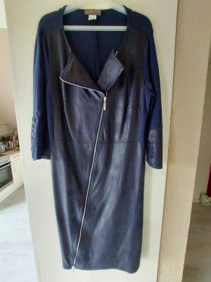 Kleid mit Lederoptik