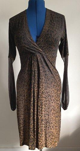 Kleid mit Leoprint
