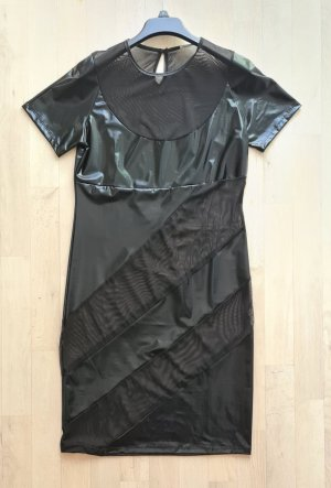 Black Level Vestido cut out negro