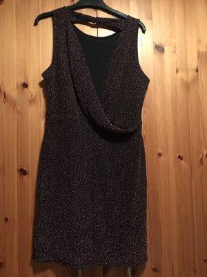 Kleid mit Metallic Garn Gr. L