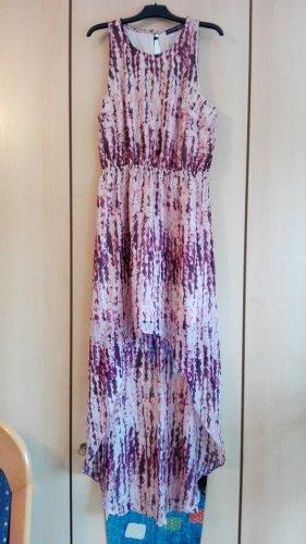 Szyfonowa sukienka fioletowy