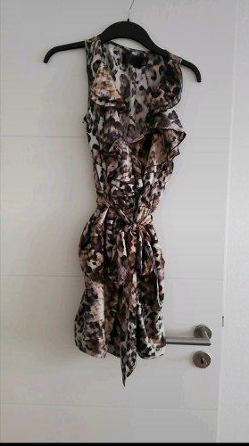 H&M vestido de globo multicolor