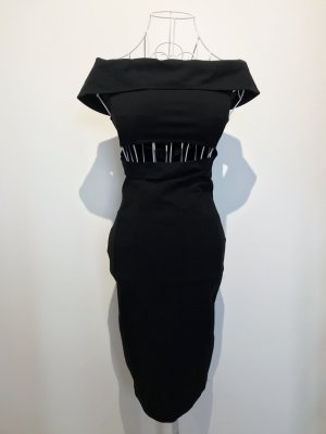 NA-KD Vestido cut out negro