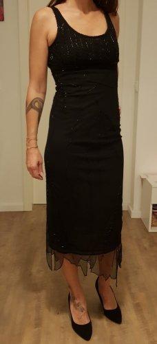 Mango Sequin Dress black