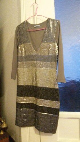 Kleid mit Pailletten von Strenesse Blue