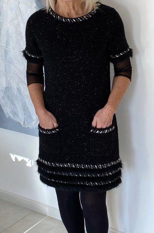 Kleid mit passender Jacke in schwarz