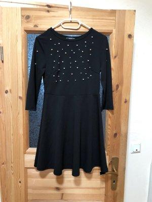 Kleid mit Perlen Oberteil Gr.S