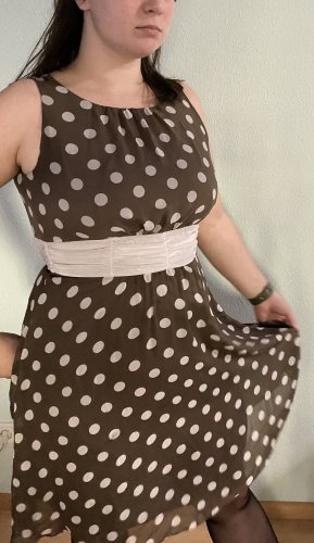 Kleid mit Polkdots