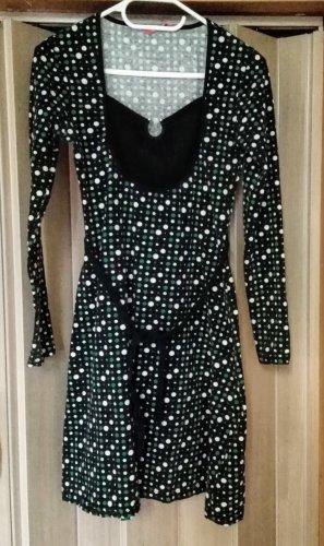 Kleid mit Punkten Gr. 36 von Saix