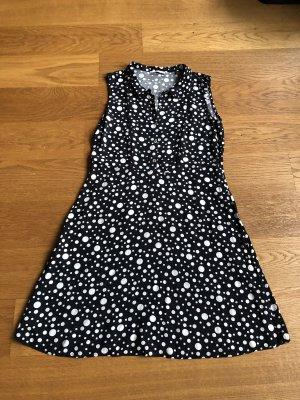 edc by Esprit Blouse Dress black-white
