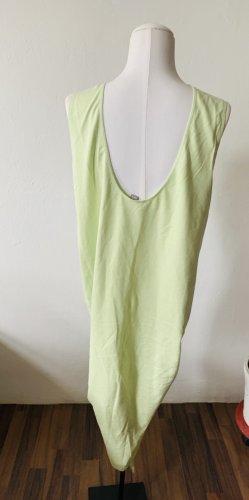 Kleid mit Raffung #pastelgrün
