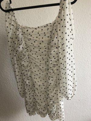 Kleid mit Raffungen