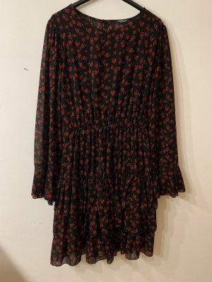 Kleid mit Rosenmotiv