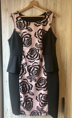Kleid mit Rosenmuster