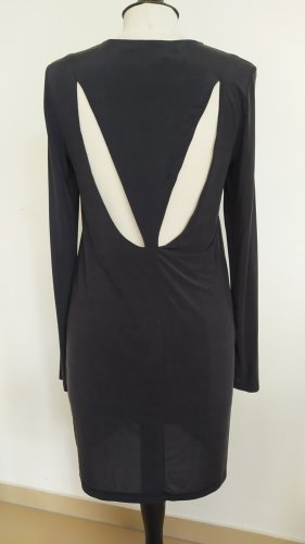 & other stories Vestido cut out gris antracita