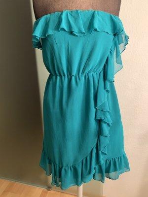 Kleid mit Rüschen Gr 36 S von H&M