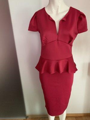 Empire Dress raspberry-red