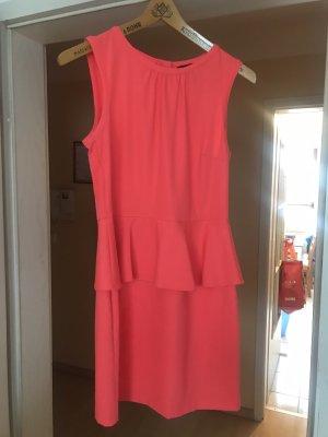 Kleid mit schösschen neon
