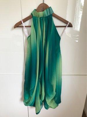 Kleid mit Seidenelementen