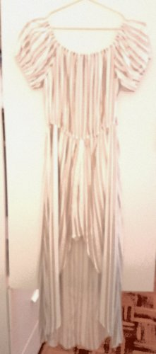 Primark Robe bas asymétrique blanc cassé-beige