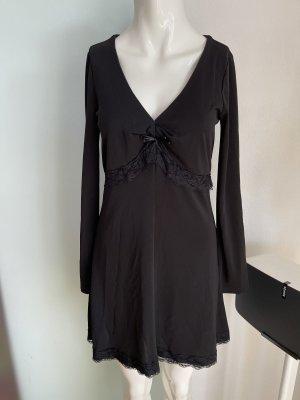 Kleid mit Spitze Details von Comma Gr 38 M