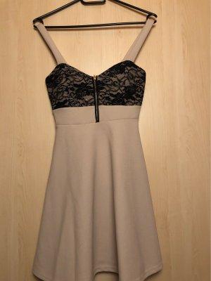 Kleid mit Spitze & Reißverschluss